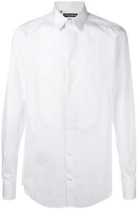 Dolce & Gabbana bib shirt