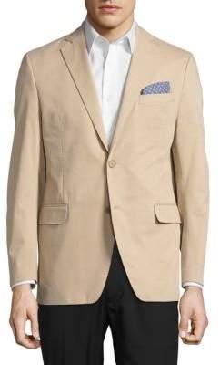 Black & Brown Black Brown Jack Fit Two-Button Jacket