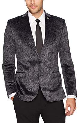 Nick Graham Men's Paisley Evening Jacket Blazer