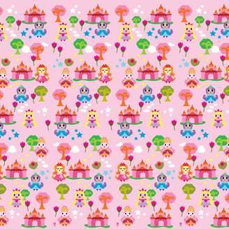 Wall Candy Arts WallCandy Arts French Bull Princess Land Wallpaper