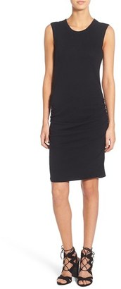 Women's James Perse Ruched Tank Dress $225 thestylecure.com
