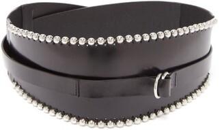 Isabel Marant Kytoo Leather Waist Belt - Womens - Black
