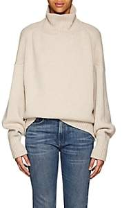 The Row Women's Pheliana Cashmere Turtleneck Sweater-Oatmeal