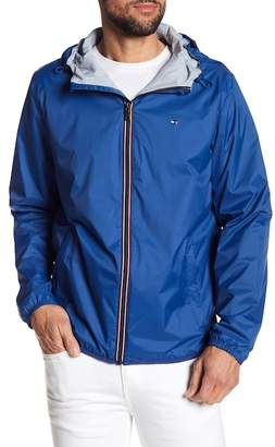 Tommy Hilfiger Packable Hooded Rain Slicker