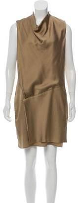 Helmut Lang Sleeveless Patterned Dress