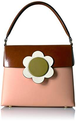 Orla Kiely Giant Flower Leather Large Bonnie