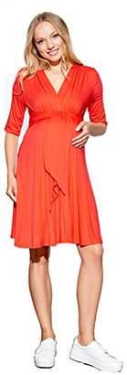 Maternal America Women's Mini Front Tie Dress