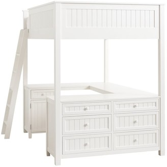 Pottery Barn Teen Beadboard Loft Bed