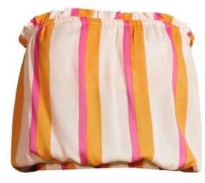 Cool Change coolchange coolchange Women's Sydney Bora Bora Stripe Top - Dark Yellow - Size Large