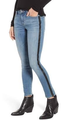 Lucky Brand Lolita Metallic Stripe Skinny Jeans