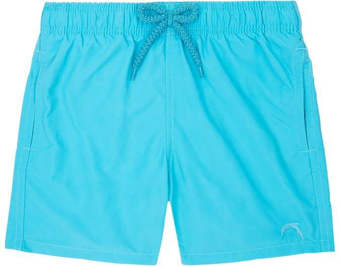 Dolphin Embroidered Swim Shorts