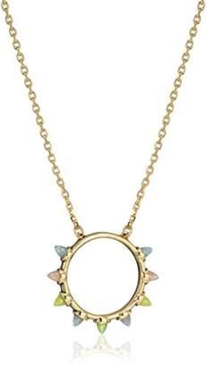 Rebecca Minkoff Rainbow Spear Pendant Necklace