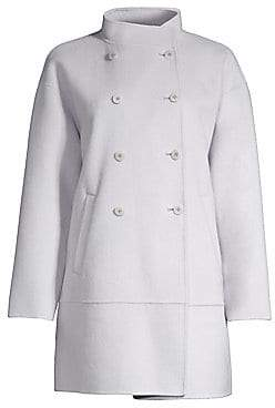 Eileen Fisher Women's Oversized Double Breasted Coat