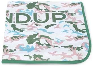 Dondup Kids camouflage towel