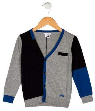 Little Marc Jacobs Boys' Knit Button-Up Cardigan
