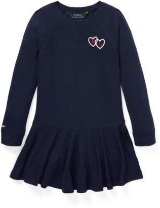 Ralph Lauren Kids Long-Sleeve Graphic Dress