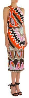 Emilio PucciEmilio Pucci Printed Jersey Dress