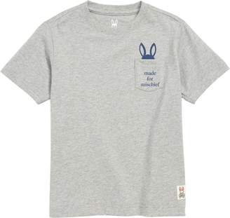 Psycho Bunny (サイコ バニー) - Psycho Bunny Bywell Graphic Pocket T-Shirt