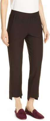 Eileen Fisher Slim Step Hem Ankle Pants