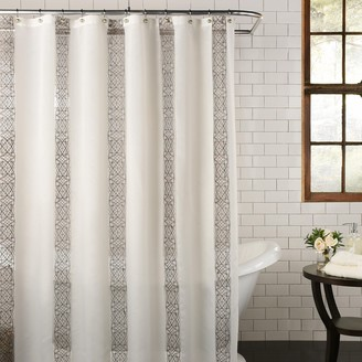 Kohls Excell Waldorf Fabric Shower Curtain
