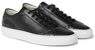 Common Projects Original Achilles Leather Sneakers - Men - Black