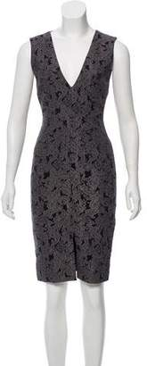 Alice + Olivia Patterned Knee-Length Dress