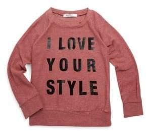 Joah Love Toddler's& Kid's Aries Style Print Sweater