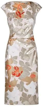Paule Ka Jacquard Sheath Dress