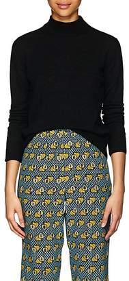 Masscob Women's Merino Wool-Blend Mock-Turtleneck Sweater