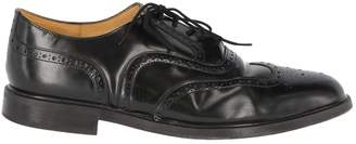 Clarks Black Leather Lace ups