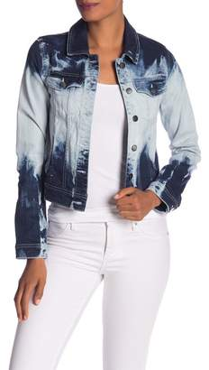 Rachel Roy Tie Dye Denim Jacket