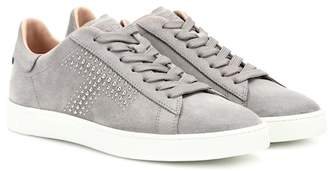 Tod's Studded suede sneakers
