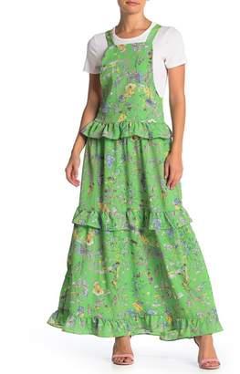 Love + Harmony Floral Ruffle Maxi Dress