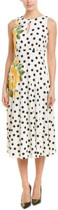 London Times A-Line Dress