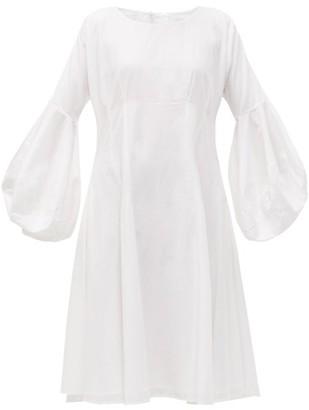 Merlette New York Arashiyama Cotton Poplin Dress - Womens - White
