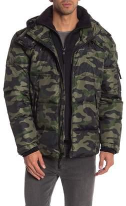 SAM. S13\u002FNYC Downhill Camo Quilted Down Jacket