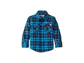 Appaman Kids Flannel Shirt with Elbow Patches (Toddler/Little Kids/Big Kids)