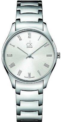 CK Calvin Klein (CK カルバン クライン) - Calvin Klein k4d2214z WatchクラシックLadies – White DialステンレススチールCase Swiss Movement
