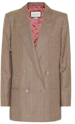 Gucci Checked wool blazer