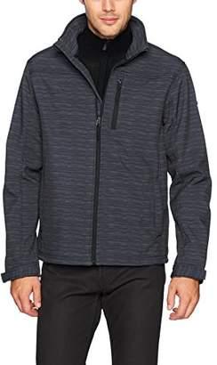 English Laundry Men's Softshell Mock Neck Jacket