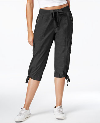 Calvin Klein Performance Convertible Cargo Capri Pants $59.50 thestylecure.com