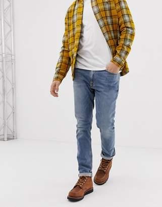 Nudie Jeans Lean Dean slim fit jeans mid stone comfort jeans