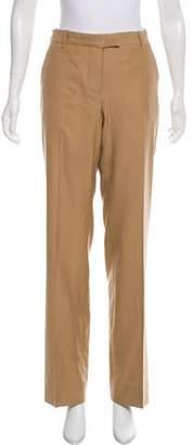 Helmut Lang Mid-Rise Wide-Leg Pants