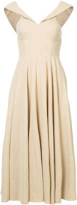 Co flared midi dress