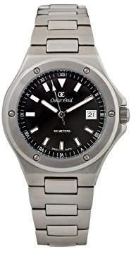 Gents Oskar Emil Luzern Black Classic Watch with Date