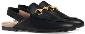 Gucci Kids slingback slippers