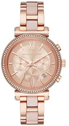 Michael Kors Women's Sofie Analog Display Analog Quartz Watch MK6560
