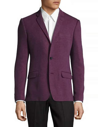 HAIGHT AND ASHBURY Soft Stretch Knit Blazer