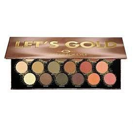 Make Up For Ever Let'S Gold Eye Palette
