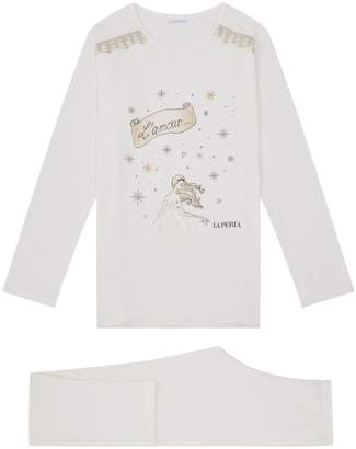 La Perla L'Amour Embellished Pyjamas
